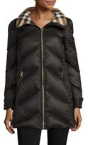 Burberry Eastwick Chevron Puffer