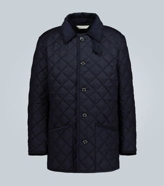 MACKINTOSH Waverly quilted wool jacket