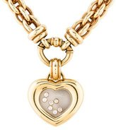 Chopard Happy Diamond Heart Pendant Necklace