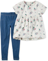 Carter's 2-Pc. Tunic and Leggings Set, Little Girls (2-6X) and Big Girls (7-16)