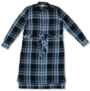 Style&Co. Style & Co Plaid Shirtdress, Created for Macy's