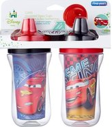 The First Years Cars the Movie - 9 oz Insulated Spill Proof Cup 2-Pack