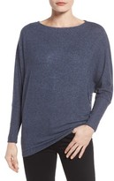 Gibson Petite Women's Dolman Sleeve Fleece Top