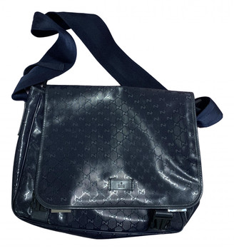 Gucci Navy Leather Bags