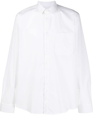 Les Hommes chest pocket shirt