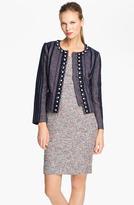 Tory Burch 'Eliza' Embellished Jacket
