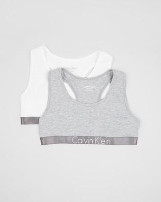 Calvin Klein 2-Pack Customised Stretch Bralette Set - Teen