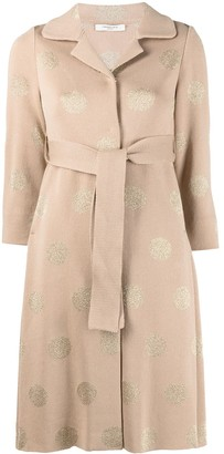Charlott Polka-Dot Cardi-Coat