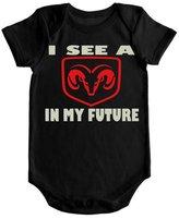 VRW I See a Dodge Ram in my Future Onesie Romper Bodysuit (3-6months, )
