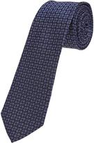 Oxford Tie Silk Geo Regular