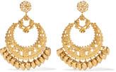Elizabeth Cole Gold-plated earrings