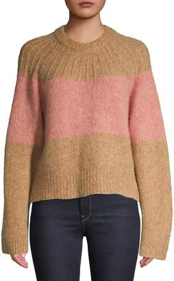 Joie Textured Crew Neck Sweater