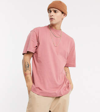 Collusion COLLUSION t-shirt in dusty pink