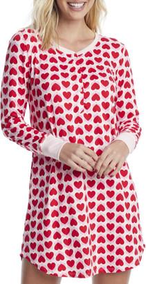 Kate Spade Heart Knit Sleep Shirt