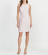 Lauren Ralph Lauren Rounded Neck Sleeveless Lace-Up Dress