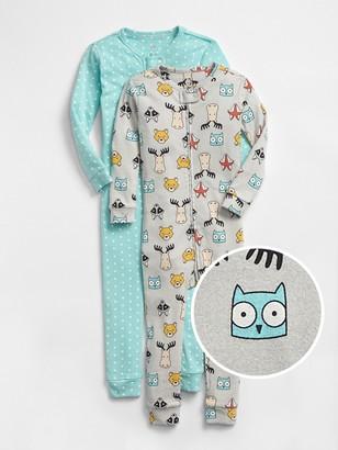Gap babyGap Critter PJ One-Piece (2-Pack)