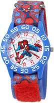 Marvel Boy's 'Spider-Man' Quartz Plastic and Nylon Automatic Watch, Color: (Model: W003233)