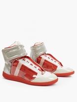 Maison Margiela Transparent Future Hi-Top Sneakers