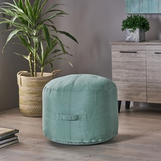 Christopher Knight Home Simpao Indoor Water Resistant Ottoman Pouf