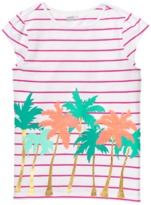 Crazy 8 Stripe Palm Tee