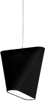 """Innermost MNM 23.6"""" Linen Novelty Lamp Shade Color: Charcoal"""