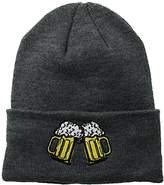 Coal Men's The Crave Fine Knit Cuffed Beanie Hat