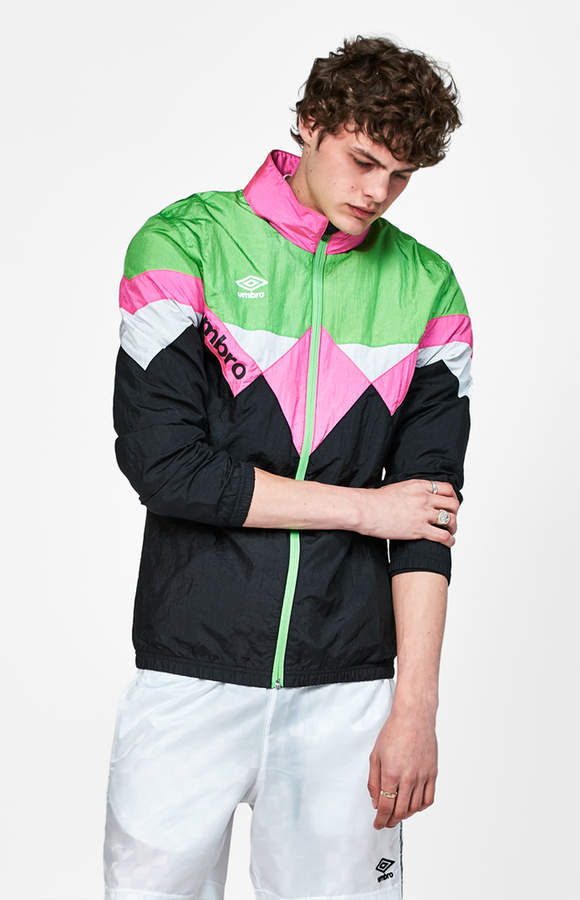 Umbro Crinkle Retro Track Jacket