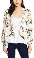 New Look Women's Dakota Floral Waterfall Blazer