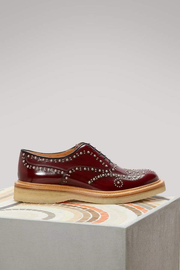 Church's Sheryl leather derby shoes