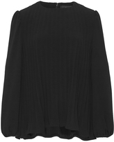 Co Japanese Crepe Pleated Blouse