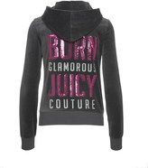Juicy Couture Logo Velour Born Glamorous Robertson Jckt