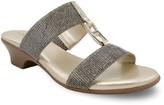 London Fog Eliza Women's Demi Wedge Sandals