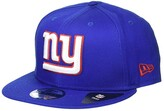New Era NFL Basic Snap 9FIFTY Snapback Cap - New York Giants (Blue 1) Caps