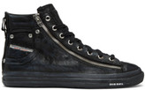Diesel Black Expo-zip High-top Sneakers