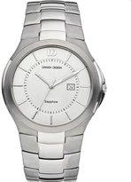 Danish Design Men's 40mm Silver-Tone Titanium Bracelet & Case Quartz Dial Analog Watch IQ62Q957