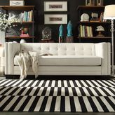 HomeVance White Ladera Sofa