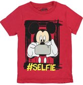 "Disney Mickey Mouse Little Boys' ""Mouse Selfie"" T-Shirt"