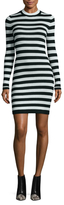 French Connection Sydney Striped Jersey Bodycon Dress