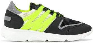 Hydrogen Colour Block Low-Top Sneakers