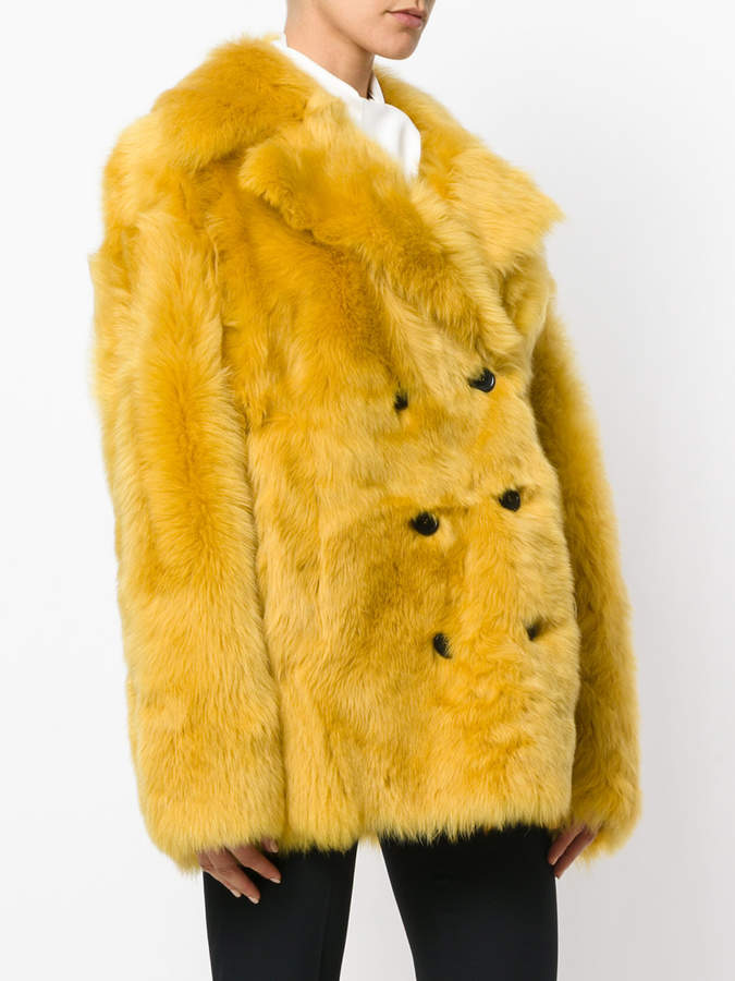 Rochas double breasted coat