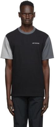 Aimé Leon Dore Black Colorblocked T-Shirt