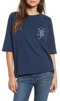 South Parade Women's Girls Girls Girls Embroidered Sweatshirt
