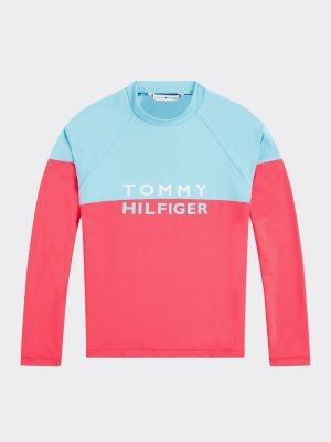 Tommy Hilfiger Logo Long Sleeve Rashguard
