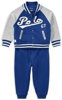 Ralph Lauren Boys' Baseball Jacket & Joggers Set - Baby