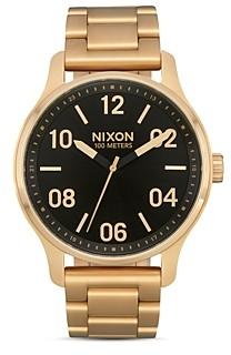 Nixon Patrol Link Bracelet Watch, 42mm
