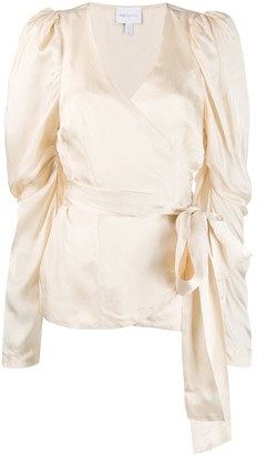 Alice McCall Wrap Style Blouse