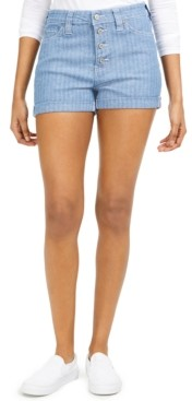 Dickies Junior's Striped Button-Fly Shorts