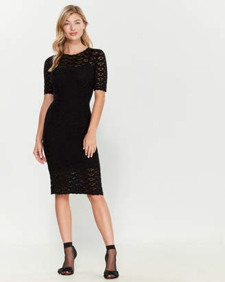 Dolce & Gabbana Cashmere Eyelet Dress