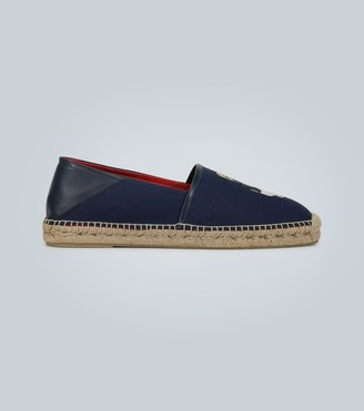 Ralph Lauren Purple Label Embroidered textile espadrilles