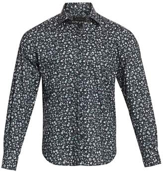 Saks Fifth Avenue Mini Floral-Print Cotton Sport Shirt